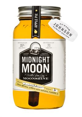 Midnight Moon Junior Johnsons Apple Pie Moonshine